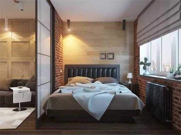 48㎡单身公寓卧室装修