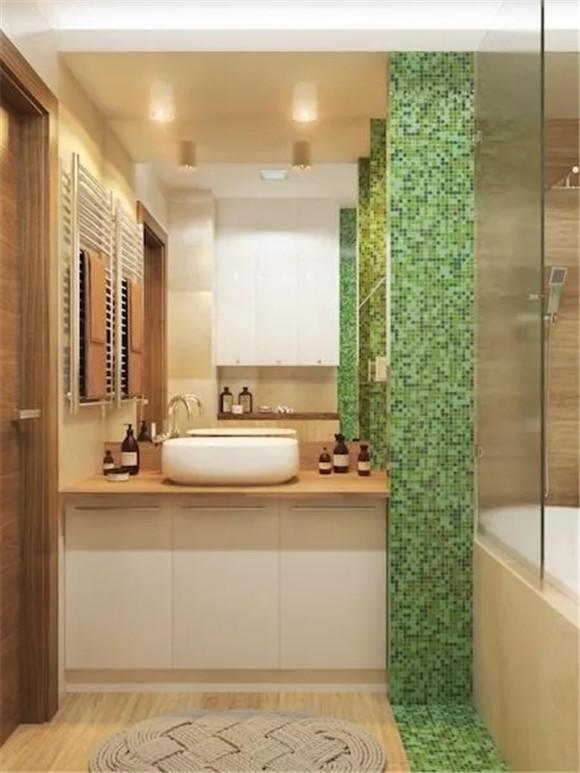 48㎡单身公寓卫生间装修