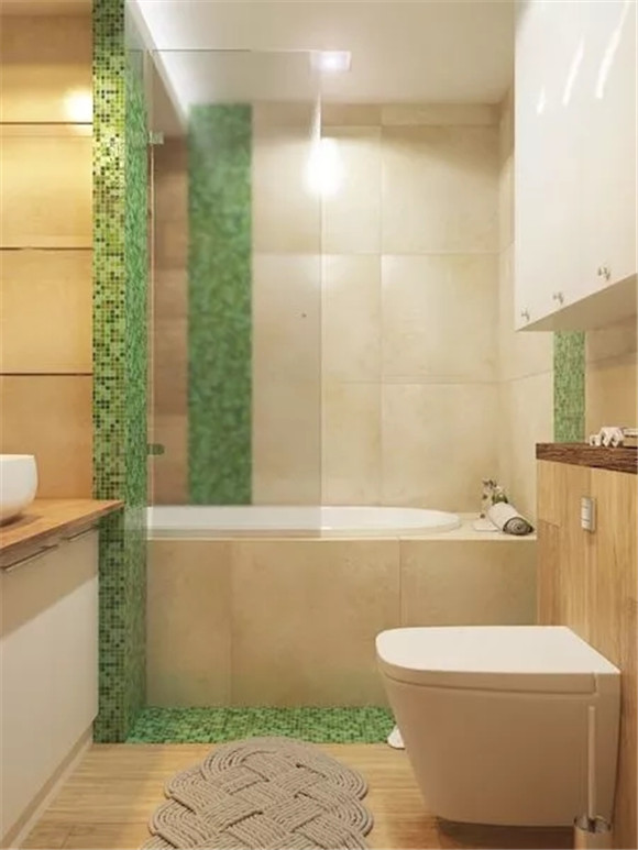 48㎡单身公寓卫生间细节装修