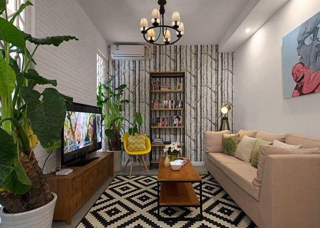 50平小户型客厅装修