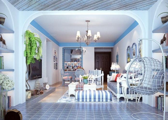 三室两厅地中海风格