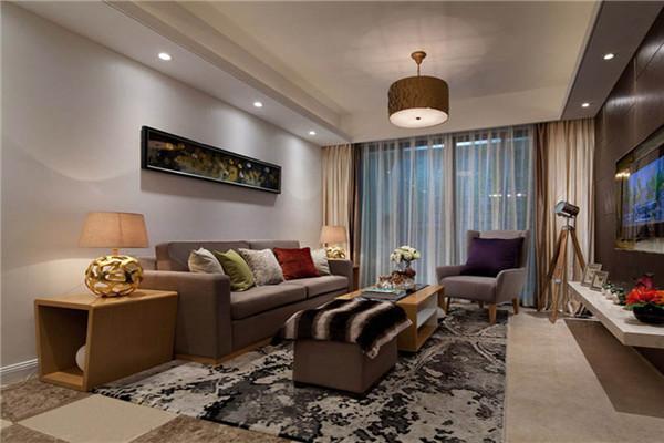 衢州127平米三室一厅现代风格