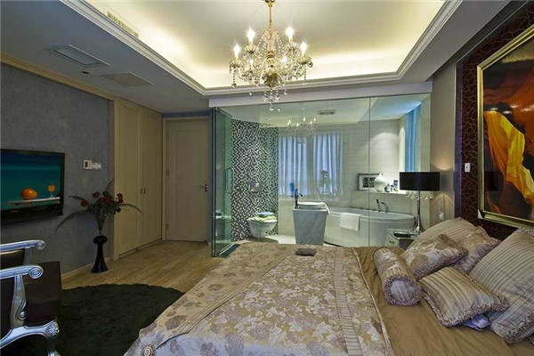 空间宽敞的卧室