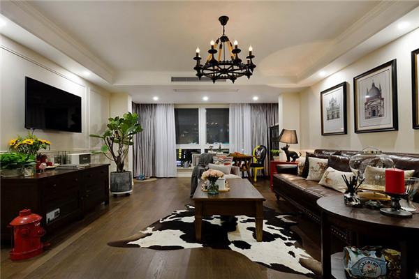 孝感136㎡2室美式家装实景图