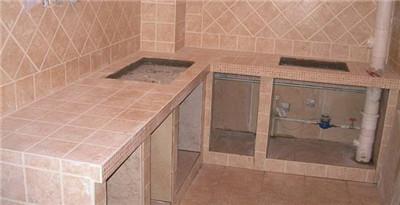 厨房瓷砖铺贴效果图