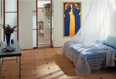 卧室铺瓷砖效果展示
