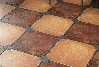 地面瓷砖铺贴效果