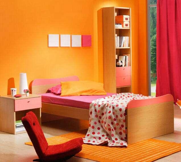 橙色会影响睡眠质量