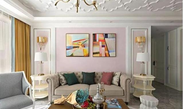 145㎡美式客厅装修
