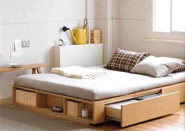 卧室床收纳