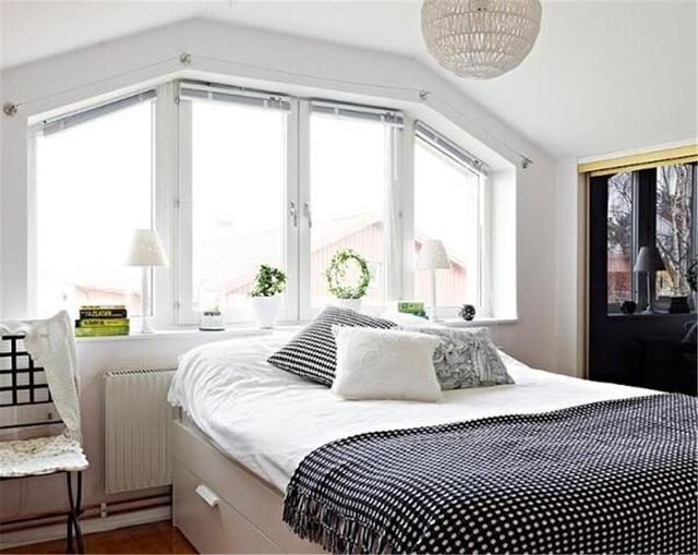 80㎡北欧风格卧室装修