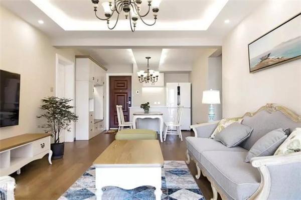 120平米美式简约两居室装修