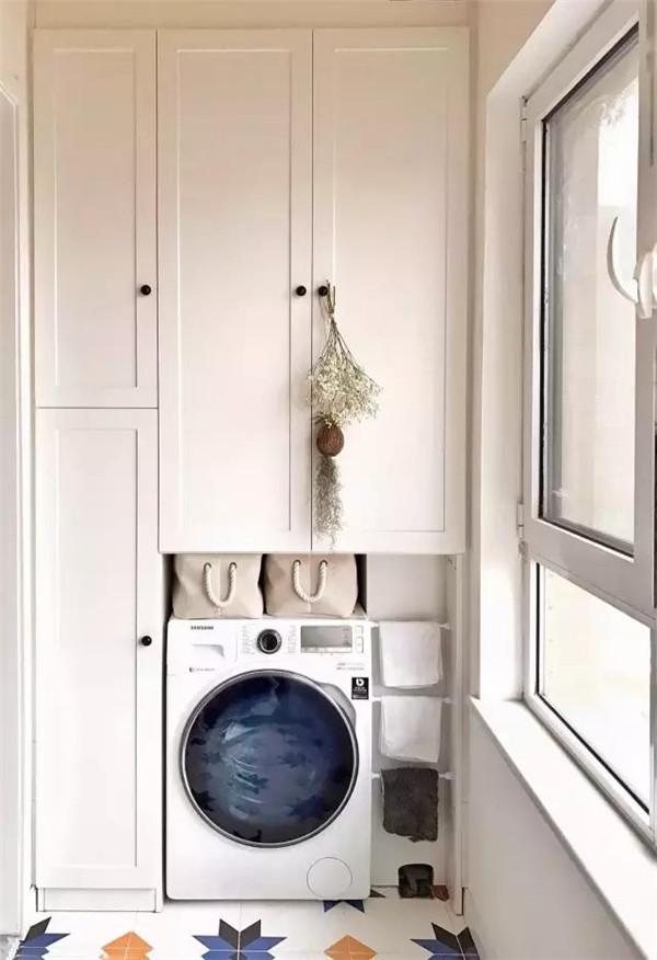 洗衣机放在哪里好