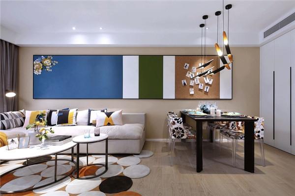 孝感92平2居室现代风装修实景图