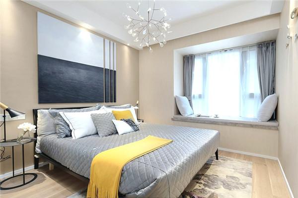 现代风装修实景图之卧室