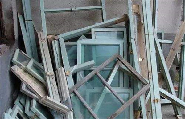 老旧门窗拆除