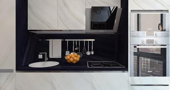 厨房的操作台区域