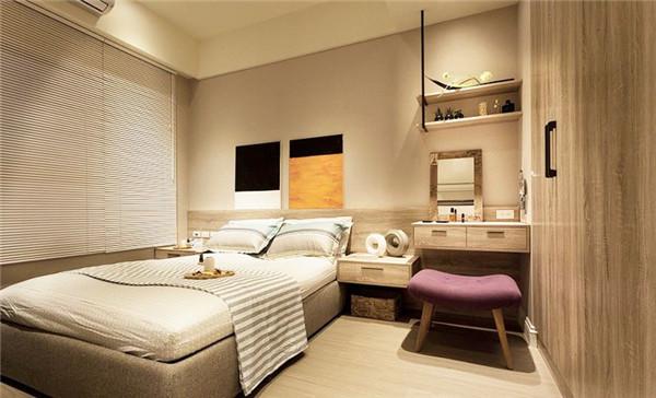 小户型主卧室装修方案