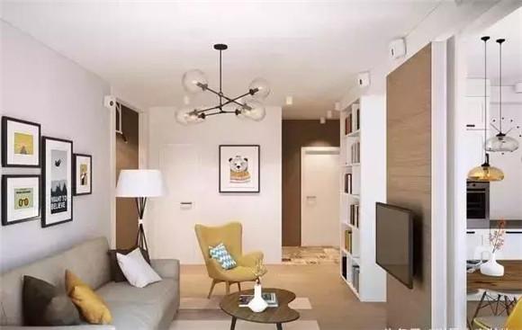 65平小户型客厅装修