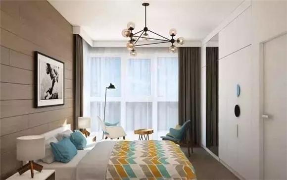 65平小户型卧室细节装修