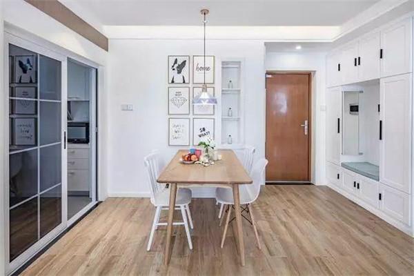 80平米两室一厅北欧风房屋装修设计