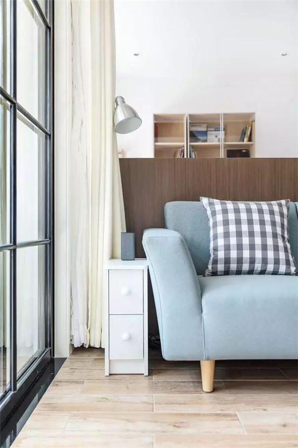 80平米两室一厅北欧风房屋装修设计沙发