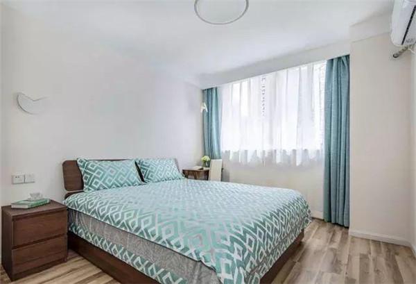 80平米两室一厅北欧风房屋装修主卧