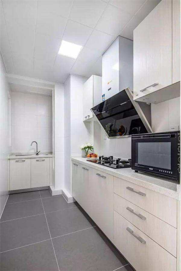 80平米两室一厅北欧风房屋装修厨房
