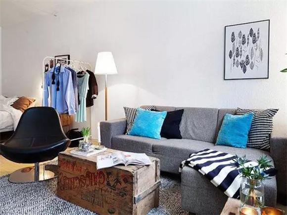 40平米单身公寓客厅装修