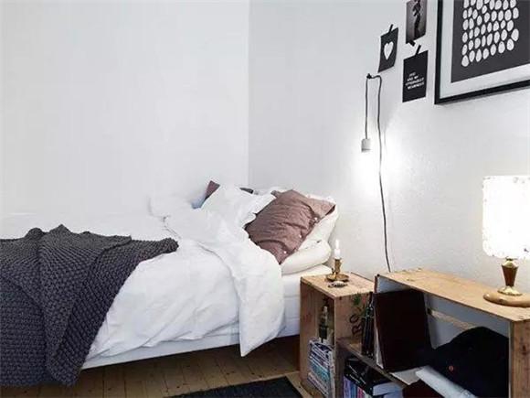 40平米单身公寓卧室装修