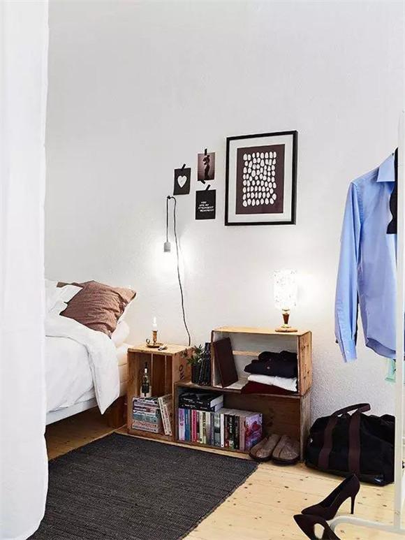 40平米单身公寓卧室细节装修