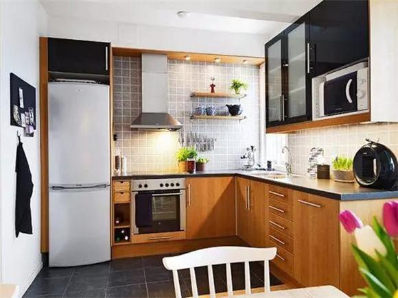 40平米单身公寓厨房装修
