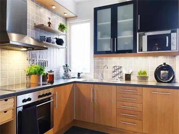 40平米单身公寓厨房橱柜装修