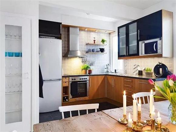 40平米单身公寓餐厅装修