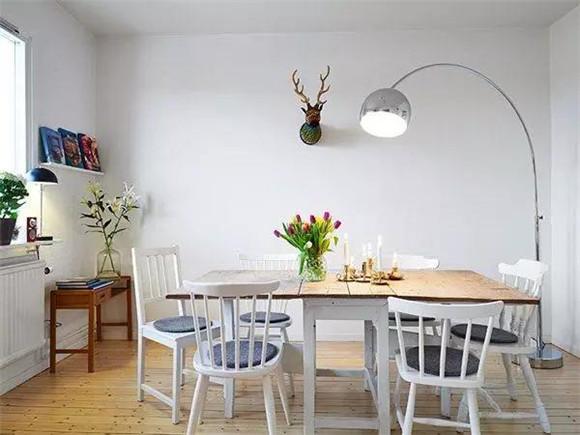 40平米单身公寓餐厅餐桌装修