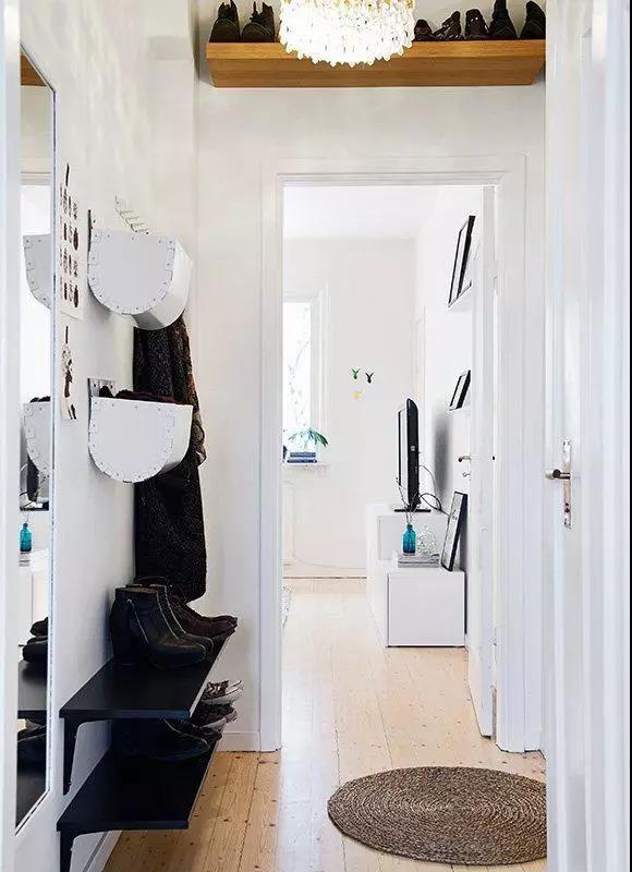 40平米单身公寓走廊装修