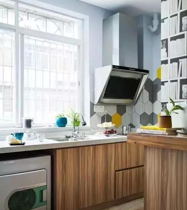 四十平米小户型时尚北欧风厨房装修案例