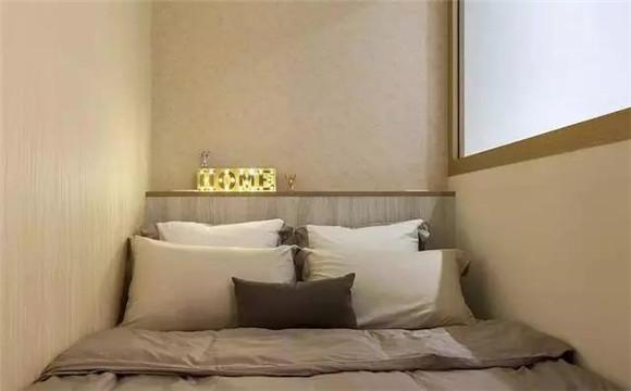 33平米小户型现代简约卧室装修