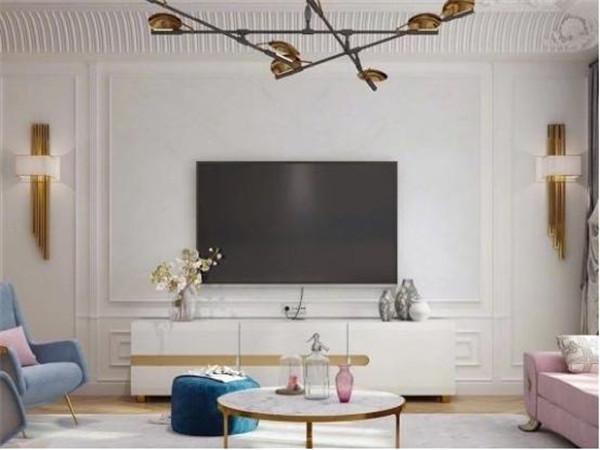 客厅电视背景墙装修设计