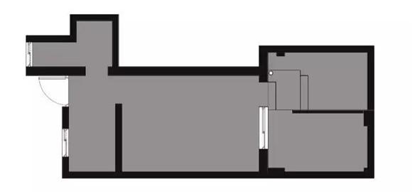56平旧房改造原户型图
