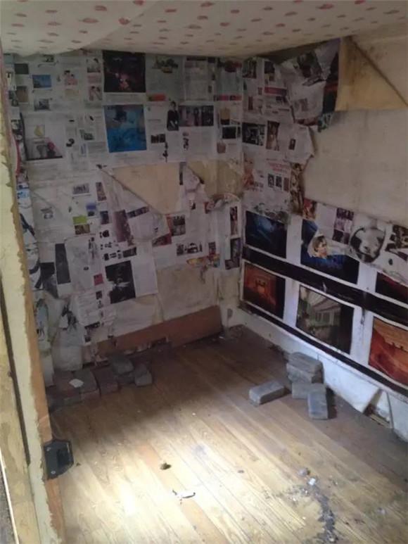 56平旧房改造前卧室