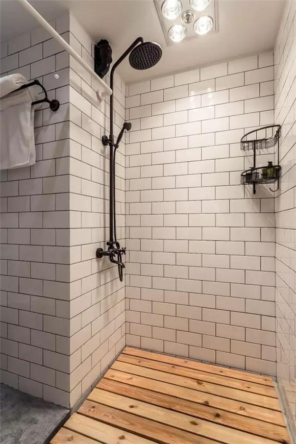56平旧房改造淋浴房效果图