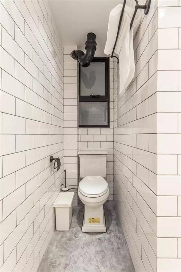56平旧房改造卫生间内部装修效果图