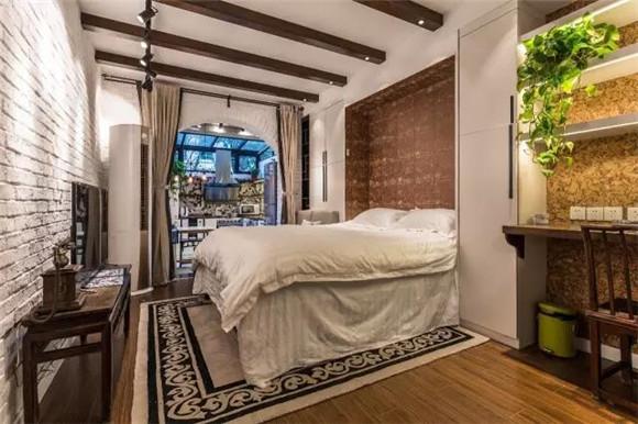 56平旧房改造卧室效果图