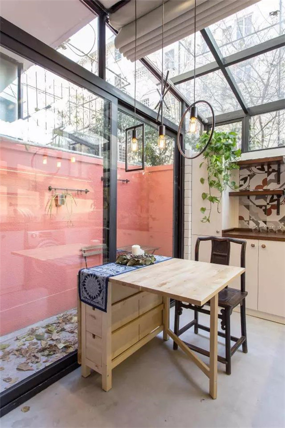 56平旧房改造餐桌效果图