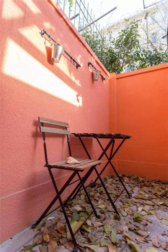56平旧房改造小露台装修效果图