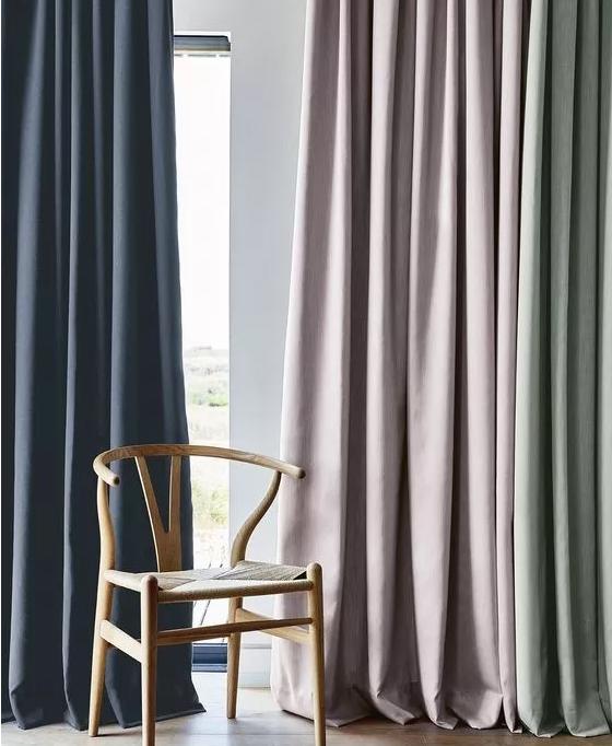 纯色窗帘选购技巧