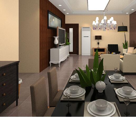 小户型餐厅设计效果图4