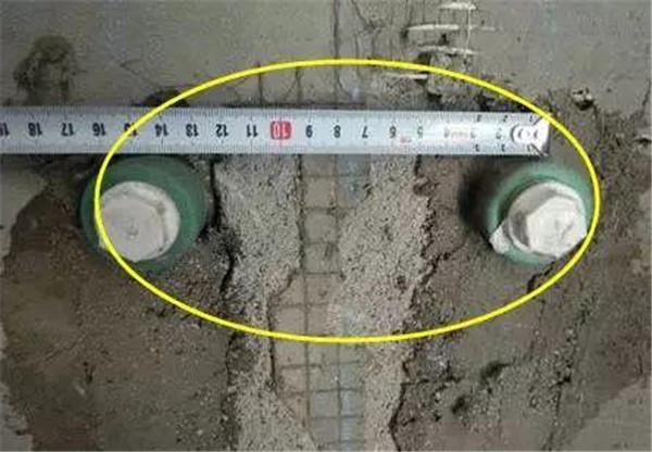冷热水管距离控制