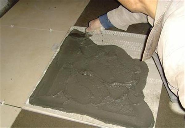 水泥砂浆铺瓷砖